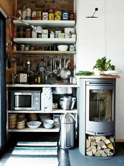 Summer Getaways: Cozy Cabin Kitchens: gallery image 1