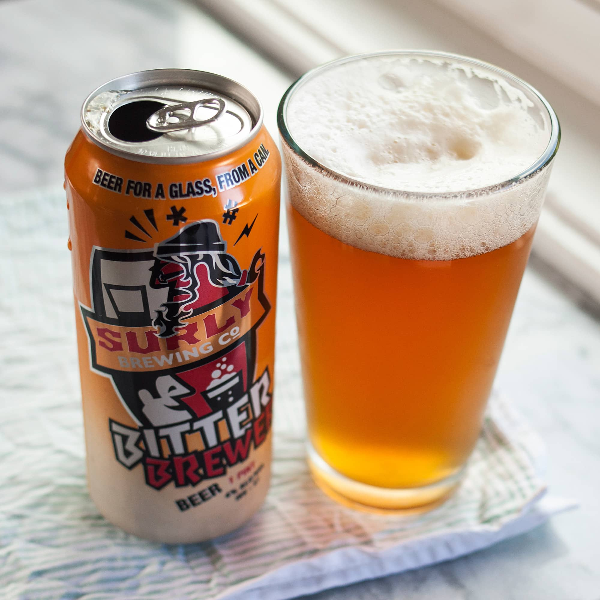 Beer Review: Bitter Brewer Beer from Surly Brewing Co.