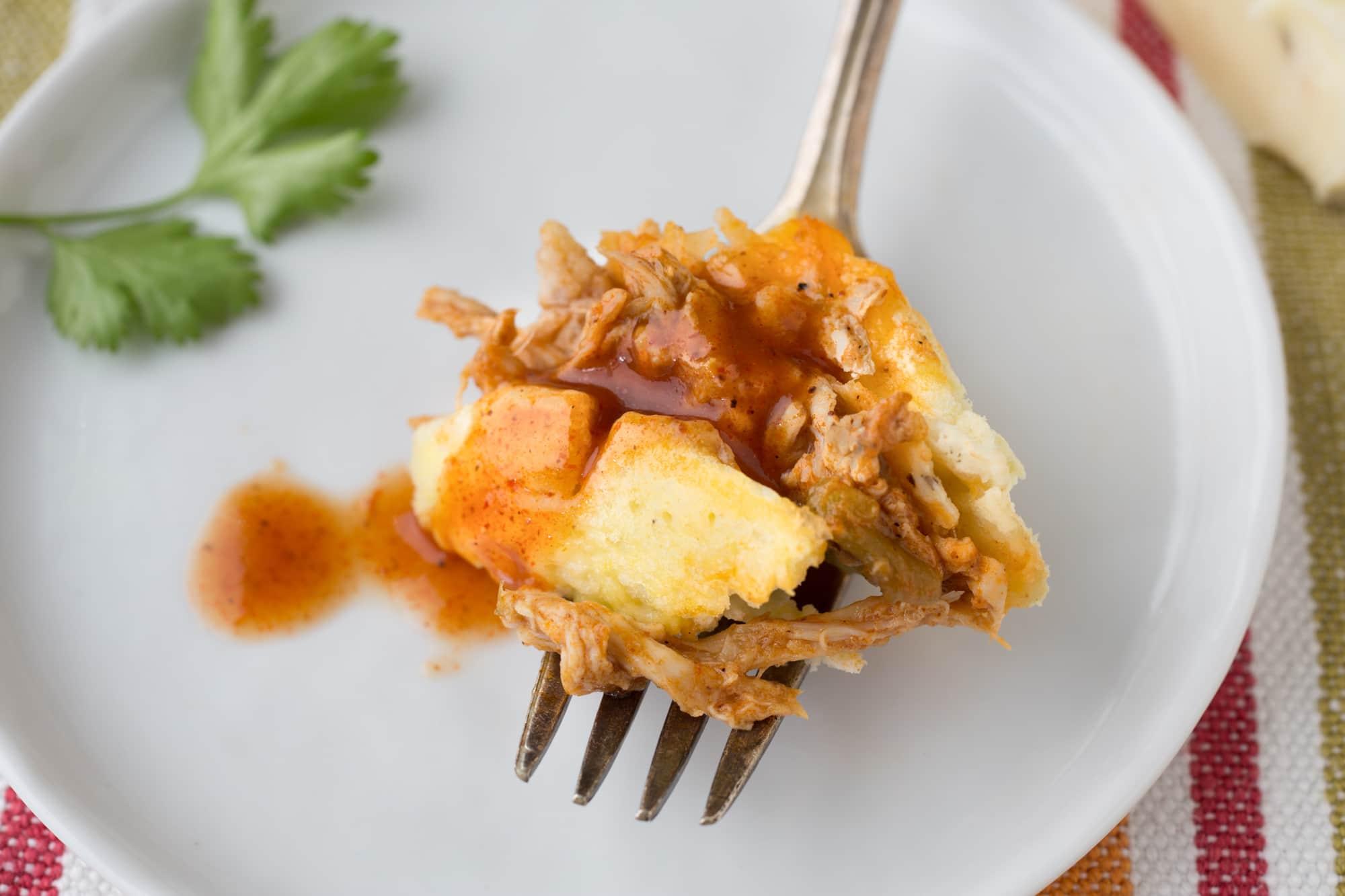 Recipe: Chicken Enchilada Omelet