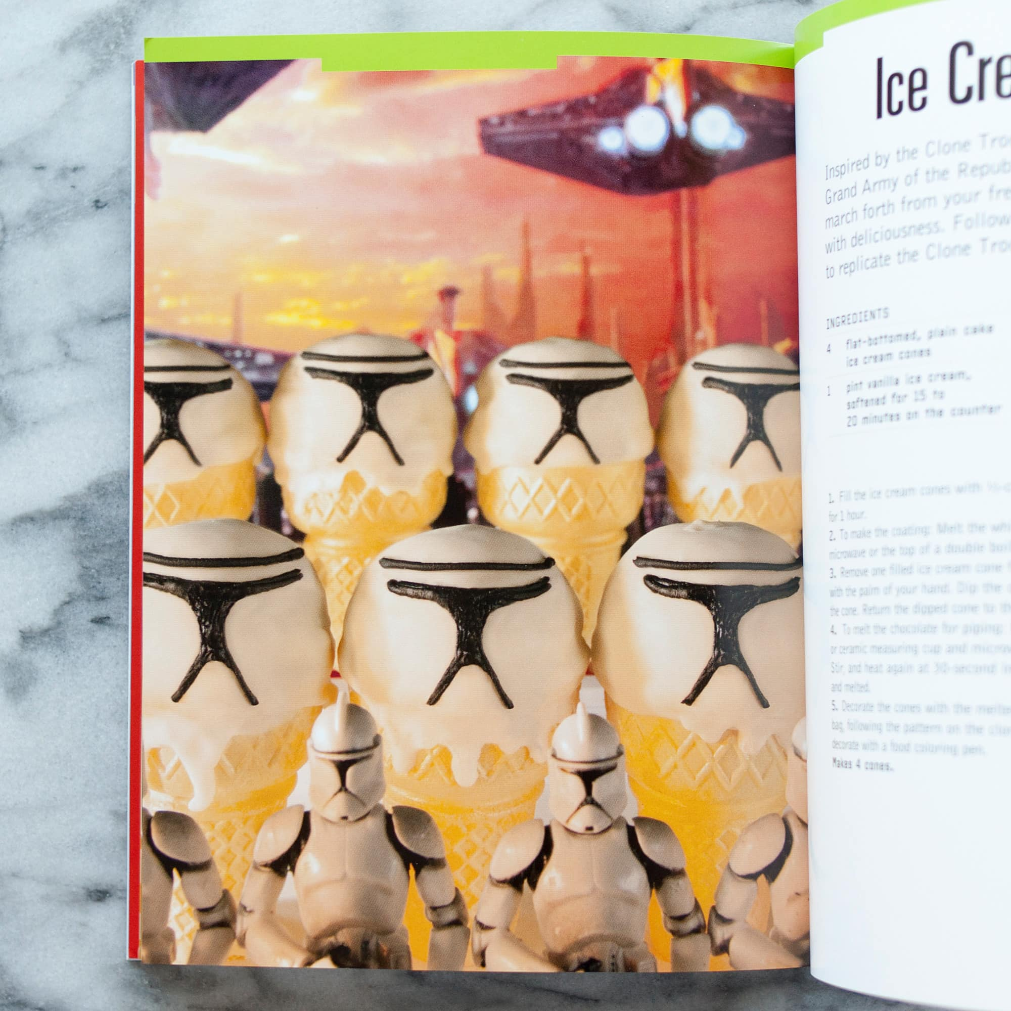 The Star Wars Cookbook: Ice Sabers by Lara Starr: gallery image 5