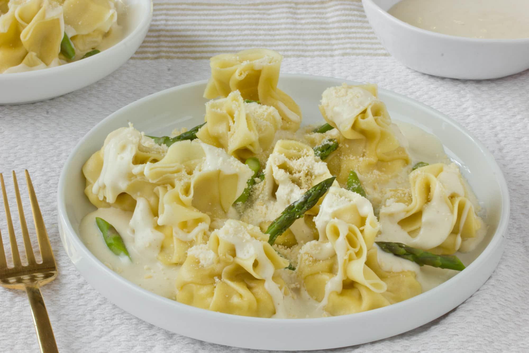 Italian Recipe: Fiocchetti with Pears and Parmesan Cream