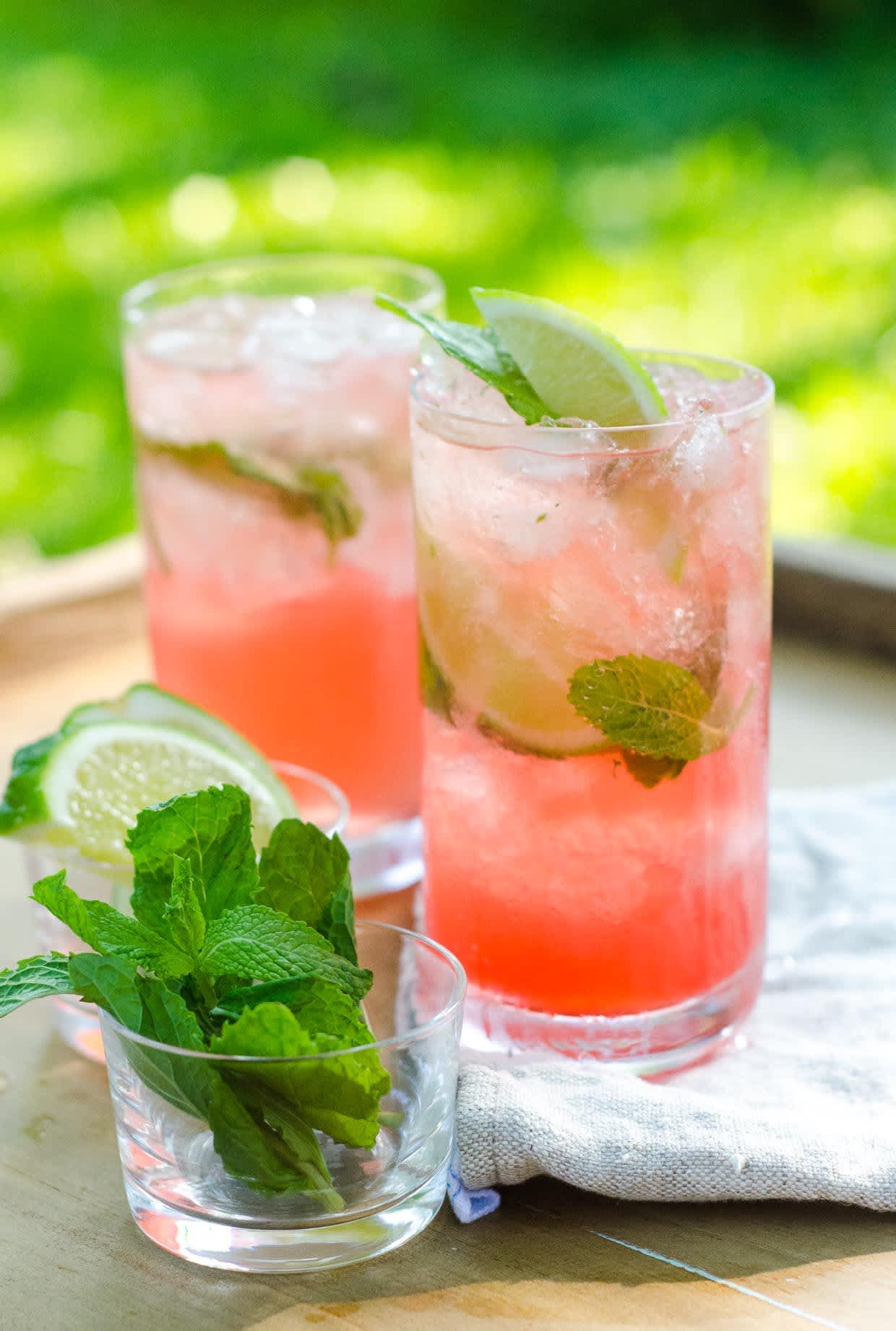 Summer Cocktail Recipe: Campari Mojito
