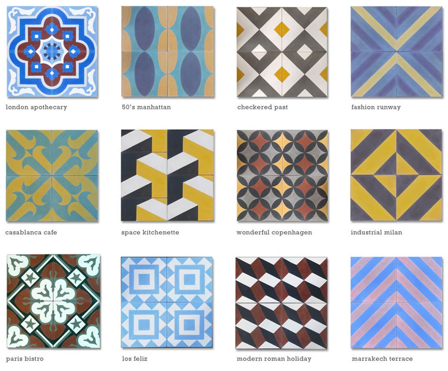 Modern Tiles by Clé: Classic, Artistic, and Moroccan Tiles for the Kitchen: gallery image 1