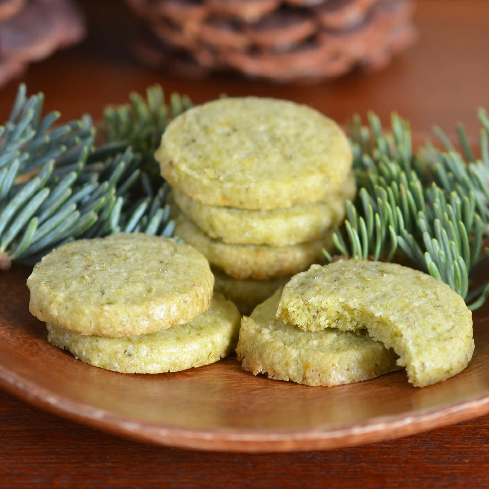 Recipe: Evergreen Shortbread Cookies