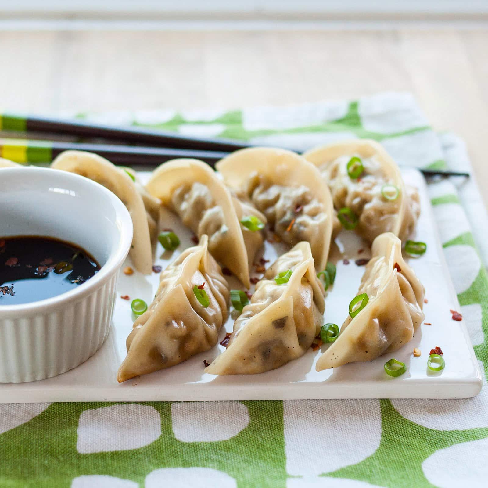 Make-Ahead & Freeze Recipe: Shiitake Mushroom & Tofu Potstickers