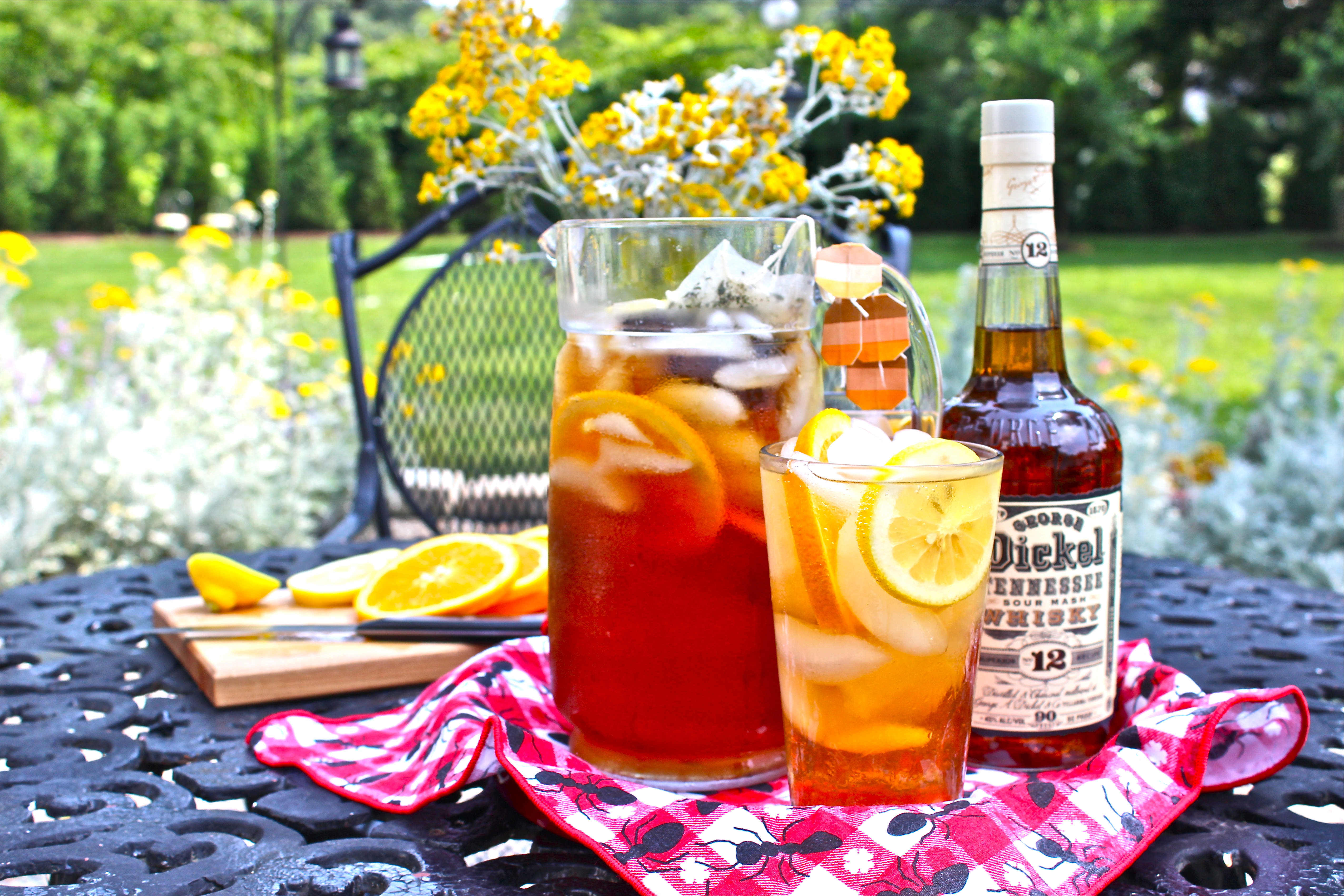 My Ultimate Whiskey Lovers' Vacation, Plus Recipe: Sparkling Sweet Tea Cocktail