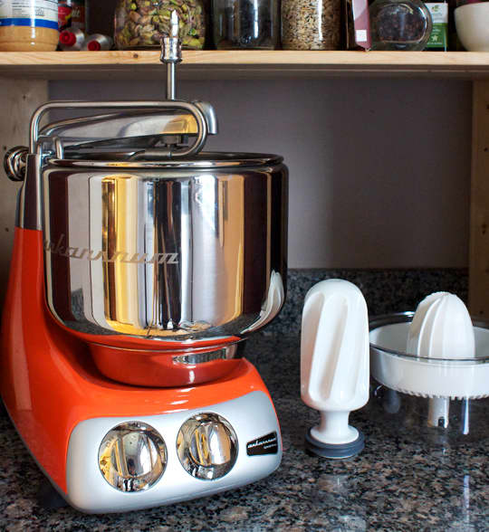 The Kitchn Reviews the Ankarsrum Assistant Kitchen Machine: Part I - The Mixer, the Citrus Juicer, and the Blender