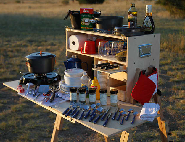 Camping (or Glamping!) This Summer? 5 Camp Kitchens That'll Meet All Your Needs: gallery image 2