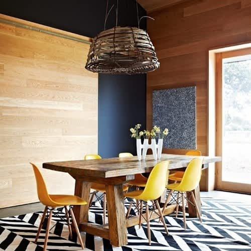 Easy Chic: Wicker Pendant Lights: gallery image 7