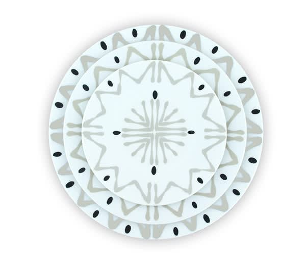Site Corot: Graphic Porcelain Dinnerware Made in France, Now In Production Again!: gallery image 2