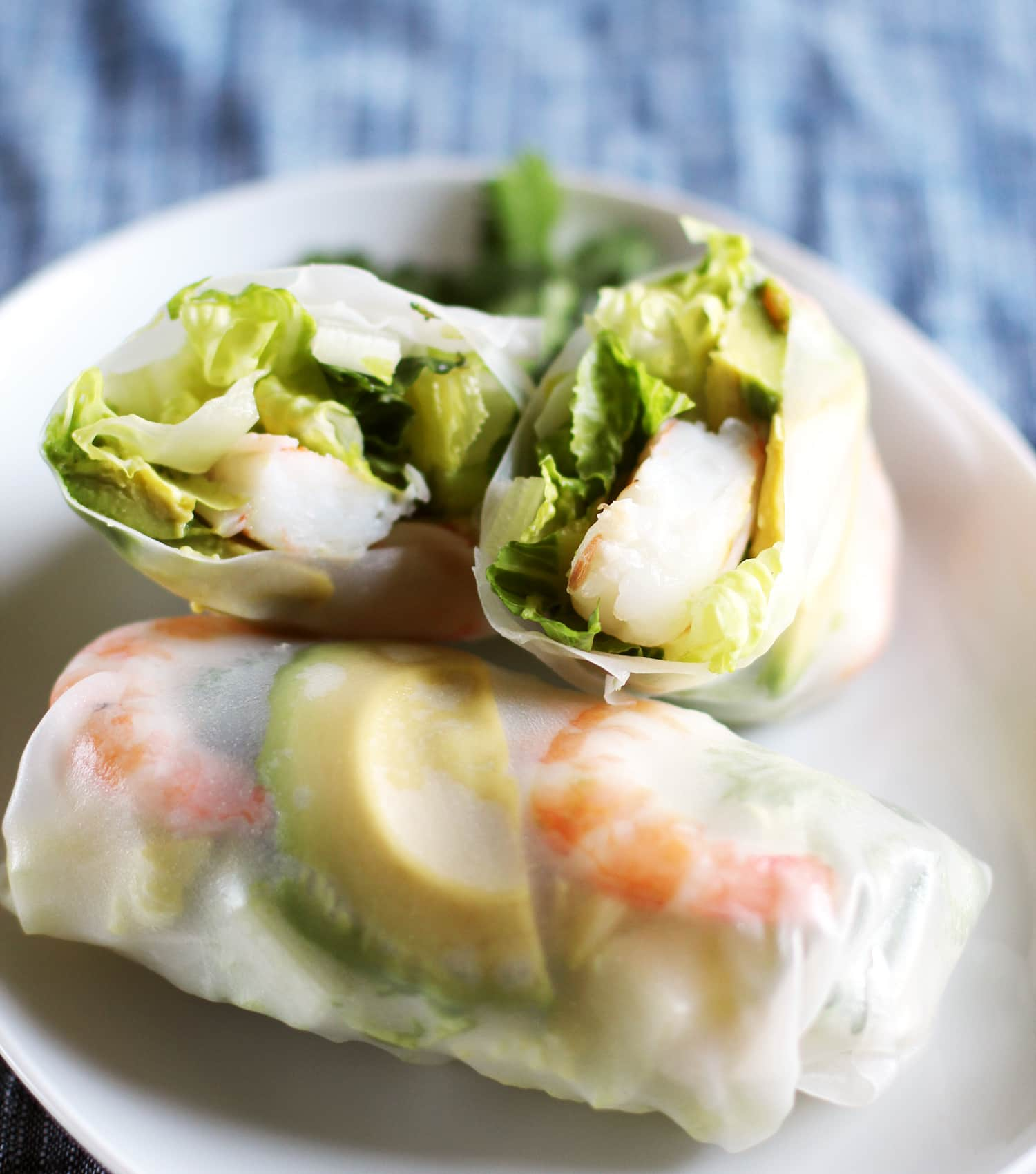 Recipe: Shrimp and Avocado Summer Salad Rolls
