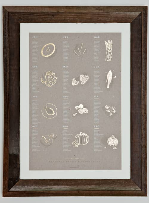 Lovely Letterpress for Your Kitchen Walls: gallery image 1