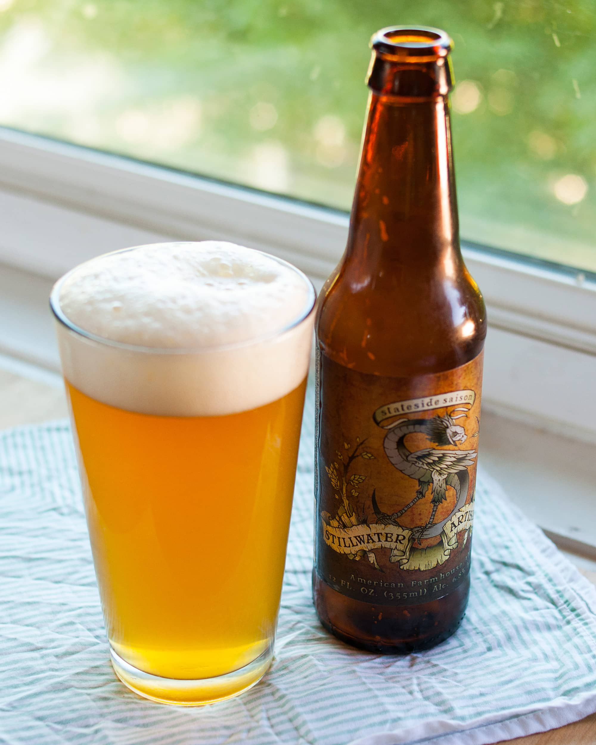 Beer Review: Stateside Saison from Stillwater Artisanal Ales