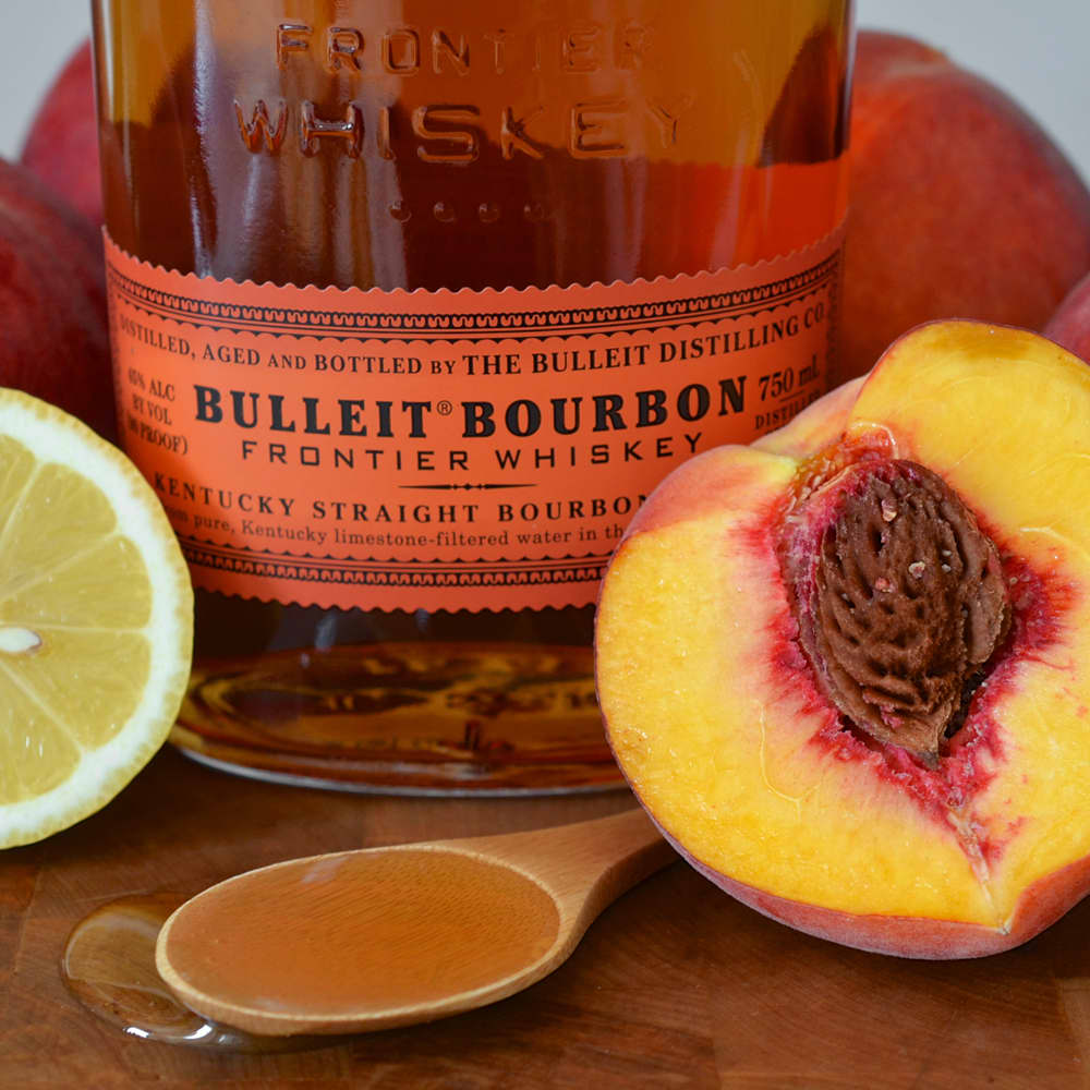 Recipe: Bourbon Peach Sorbet (No Ice Cream Maker Necessary!)