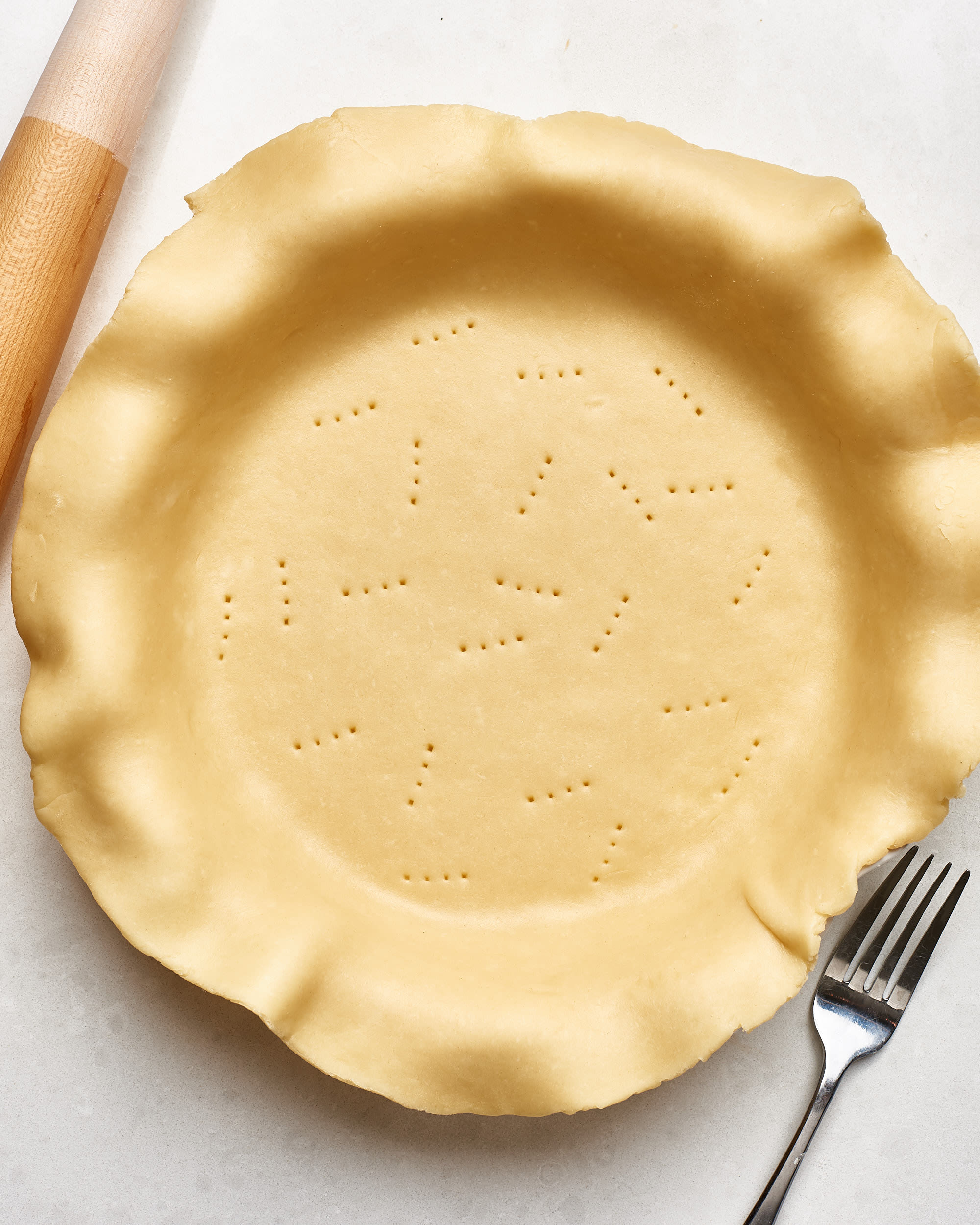 How To Make Flaky Pie Crust: gallery image 1
