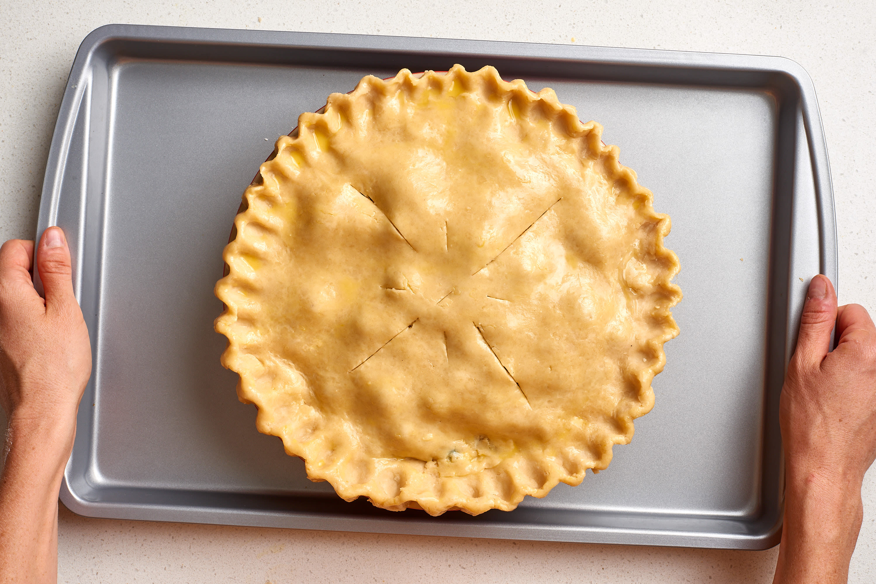 How To Make Flaky Pie Crust: gallery image 18