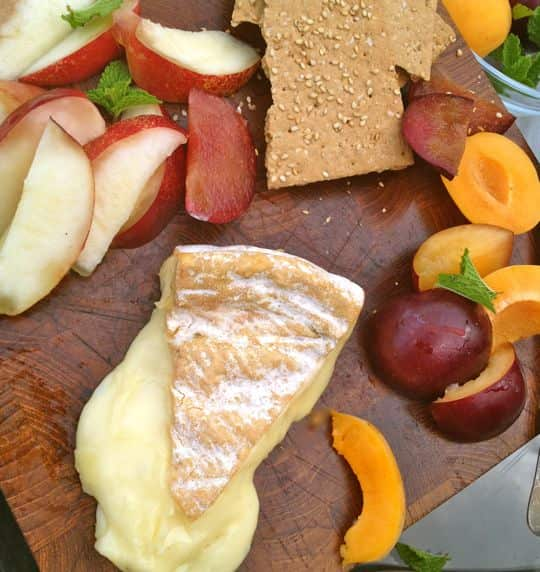 What Cheese To Serve With Stone Fruit