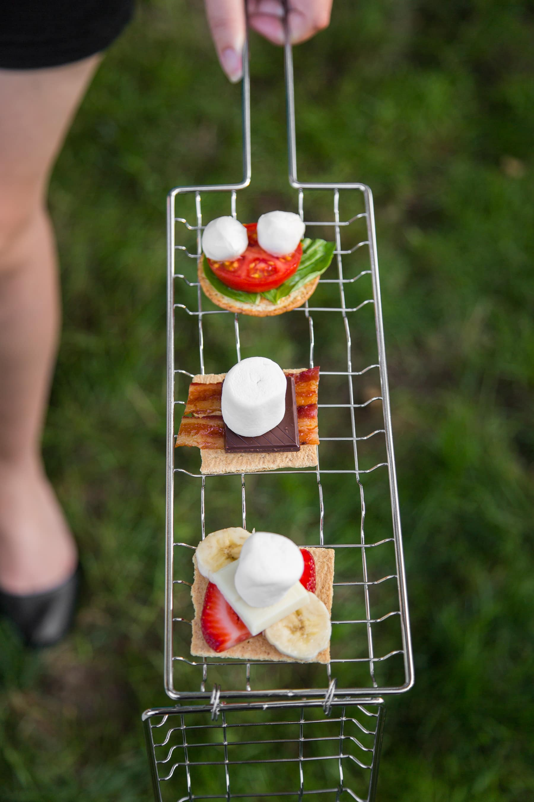 A Backyard S'mores Party: gallery image 19