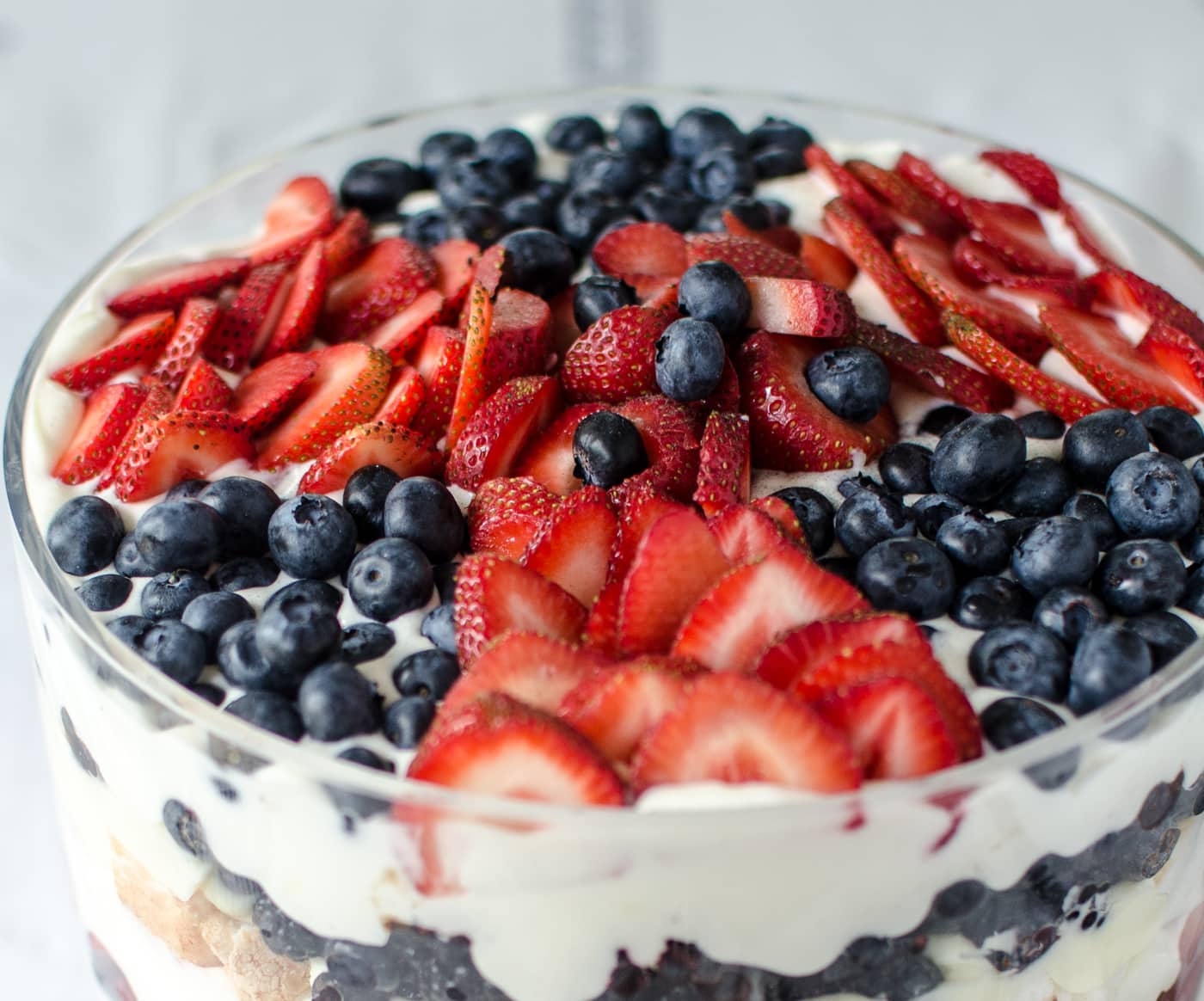 July 4th Recipe: Red, White, and Blue Trifle