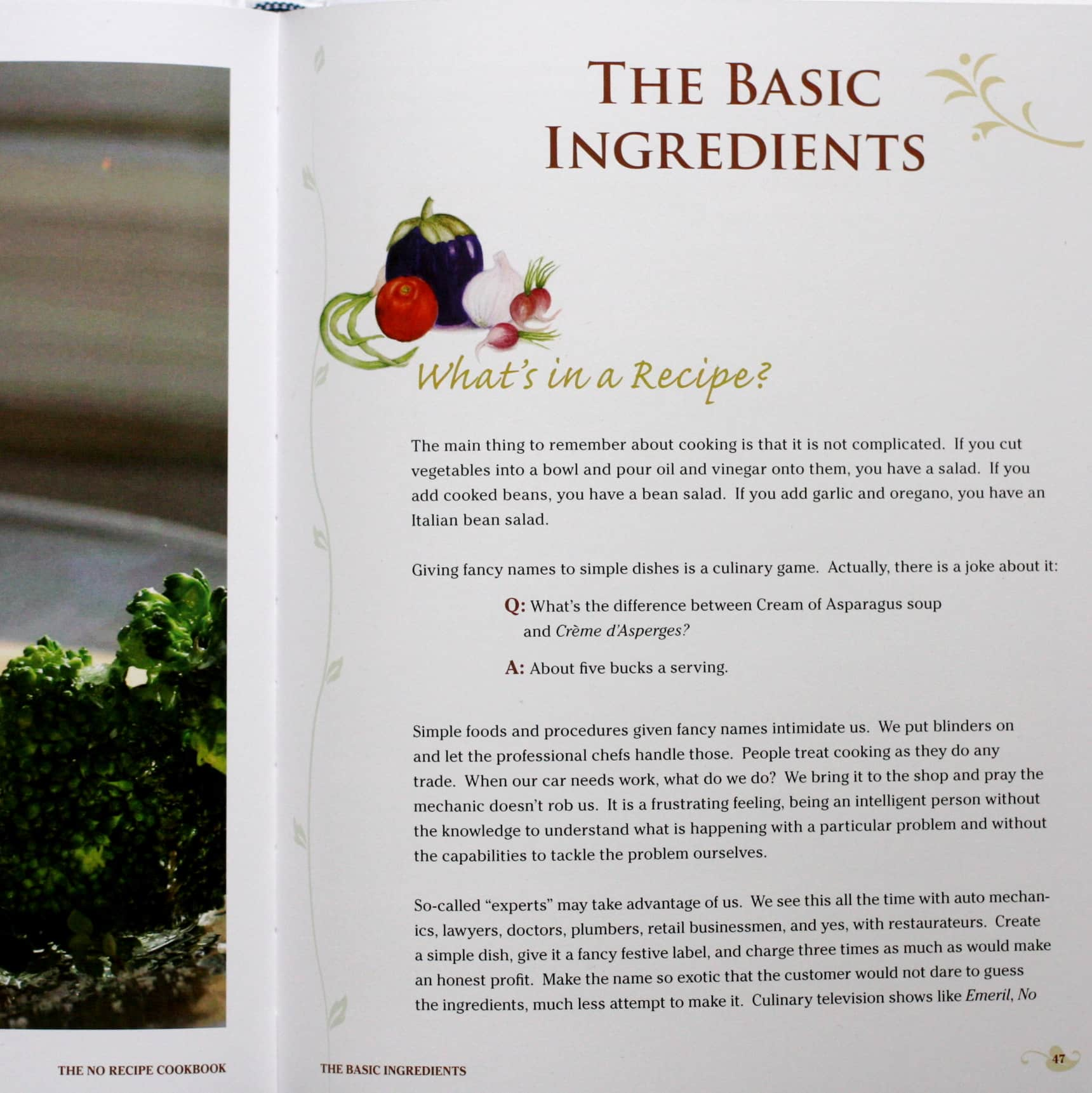The No Recipe Cookbook by Susan Crowther: gallery image 2
