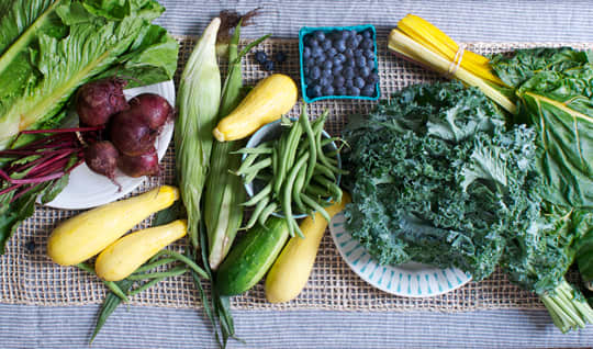 Green Beans, Cucumbers, and Blueberries, Oh My!