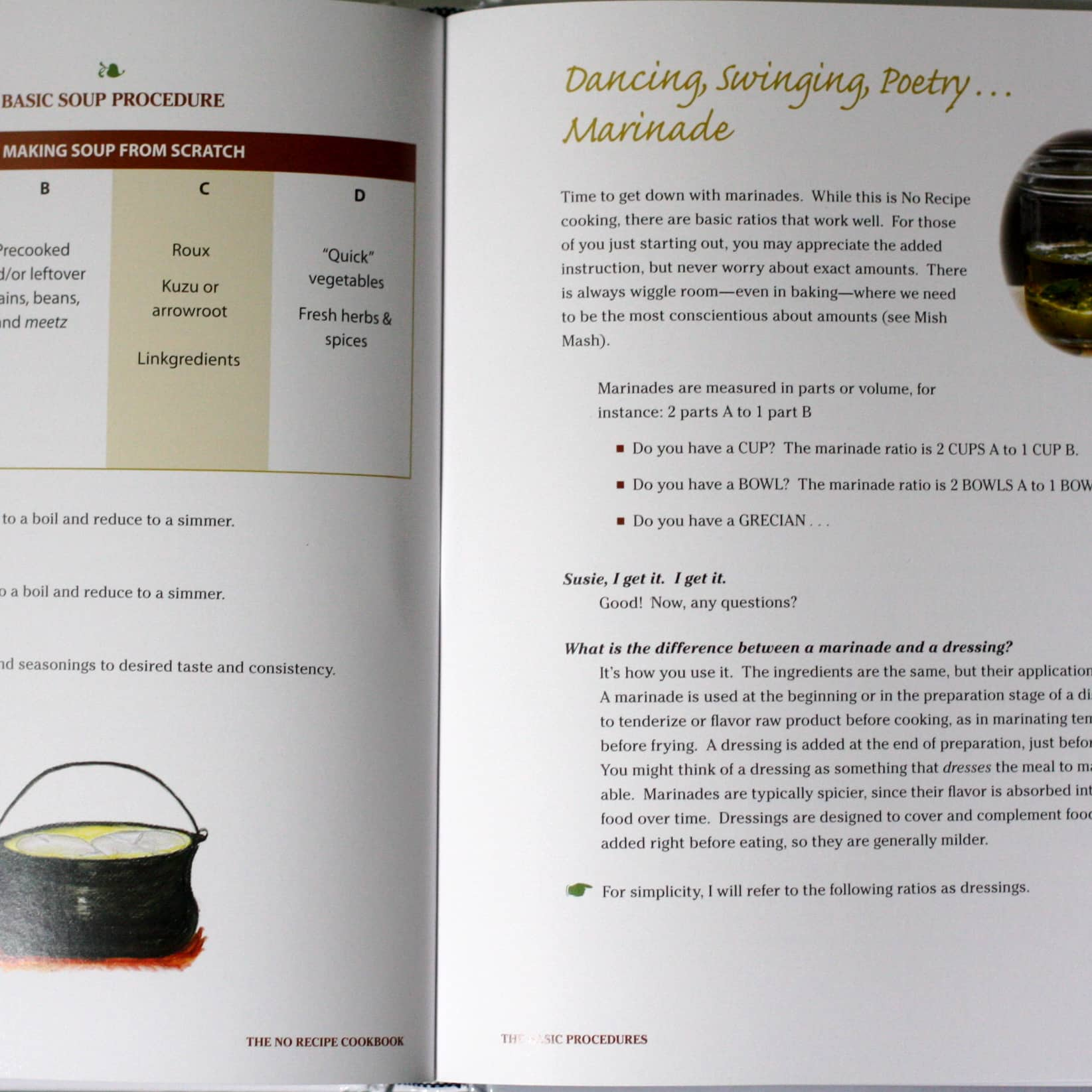 The No Recipe Cookbook by Susan Crowther: gallery image 3