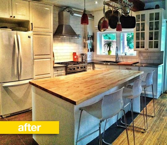 Kitchen Before & After: A Country Kitchen Gets a Scandinavian Twist