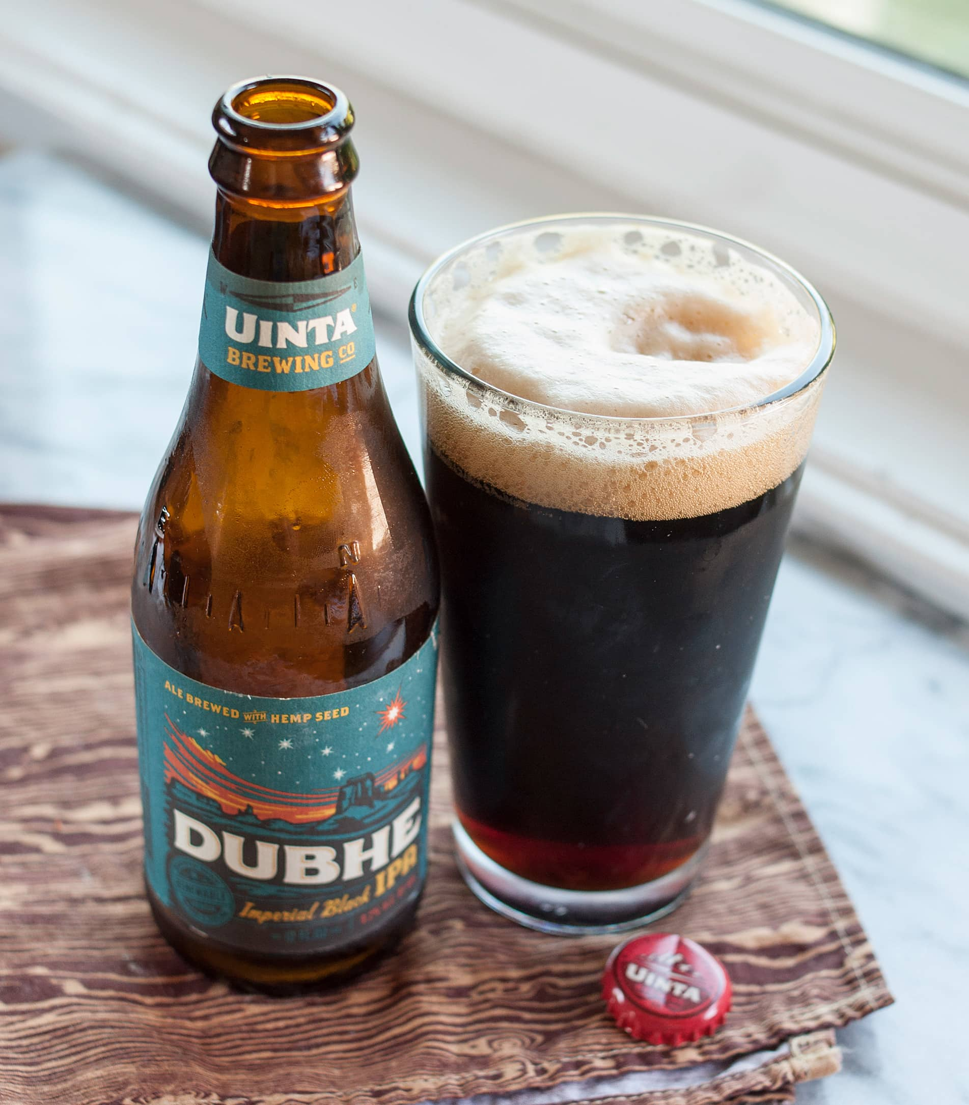 Beer Review: Dubhe Imperial Black IPA from Uinta Brewing Co.