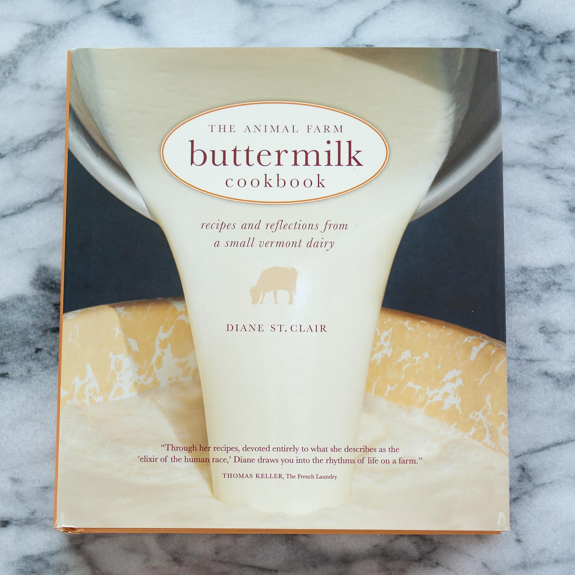 The Animal Farm Buttermilk Cookbook by Diane St. Clair: gallery image 1