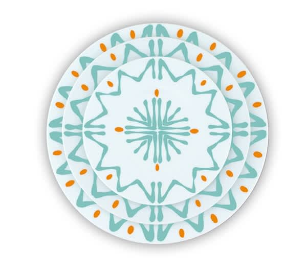 Site Corot: Graphic Porcelain Dinnerware Made in France, Now In Production Again!: gallery image 1