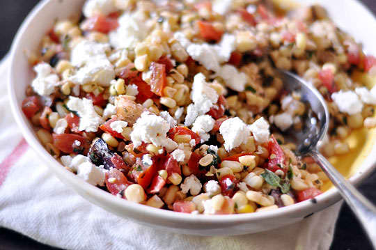 10 Summer Salads with Tomatoes & Corn