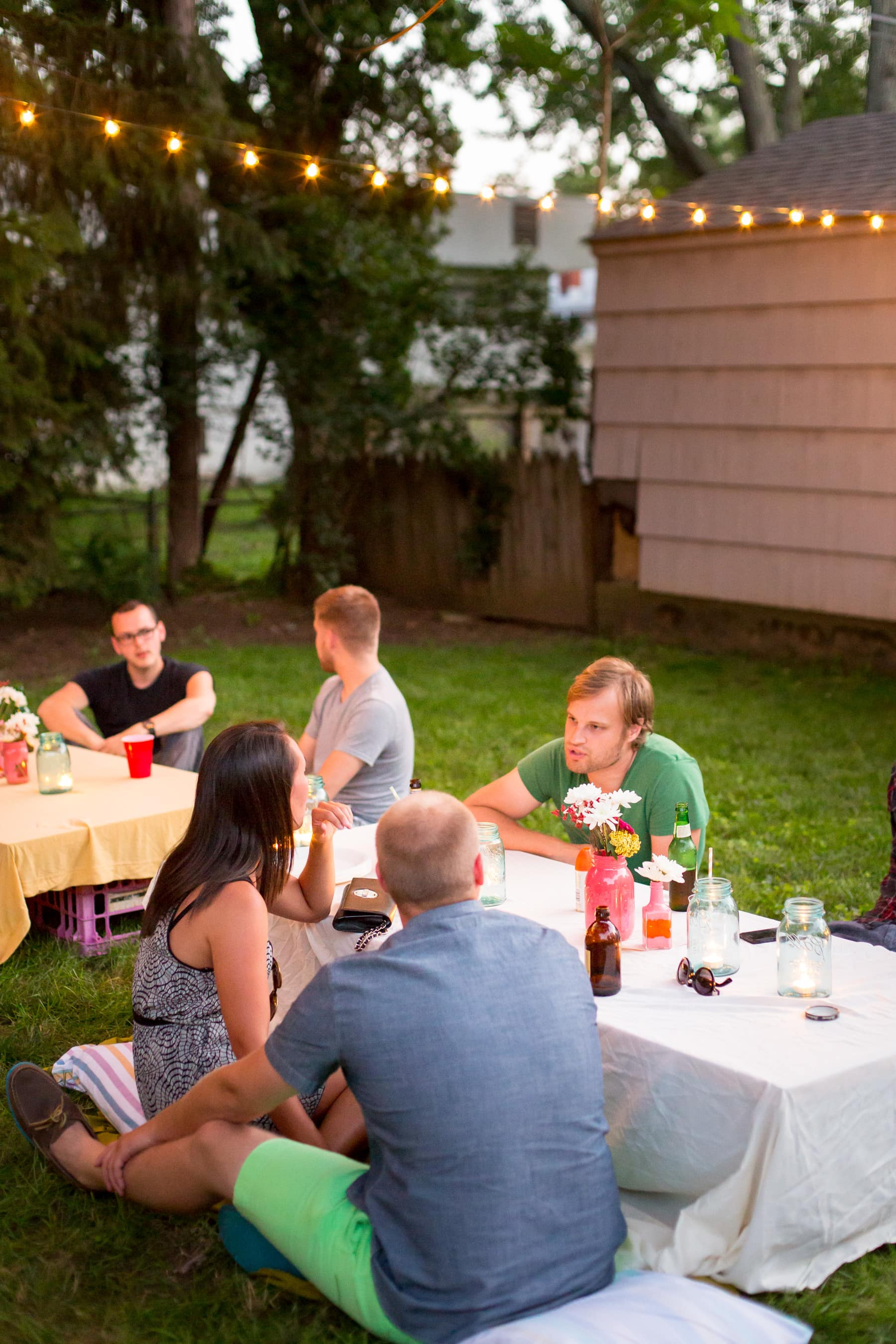 A Backyard S'mores Party: gallery image 24