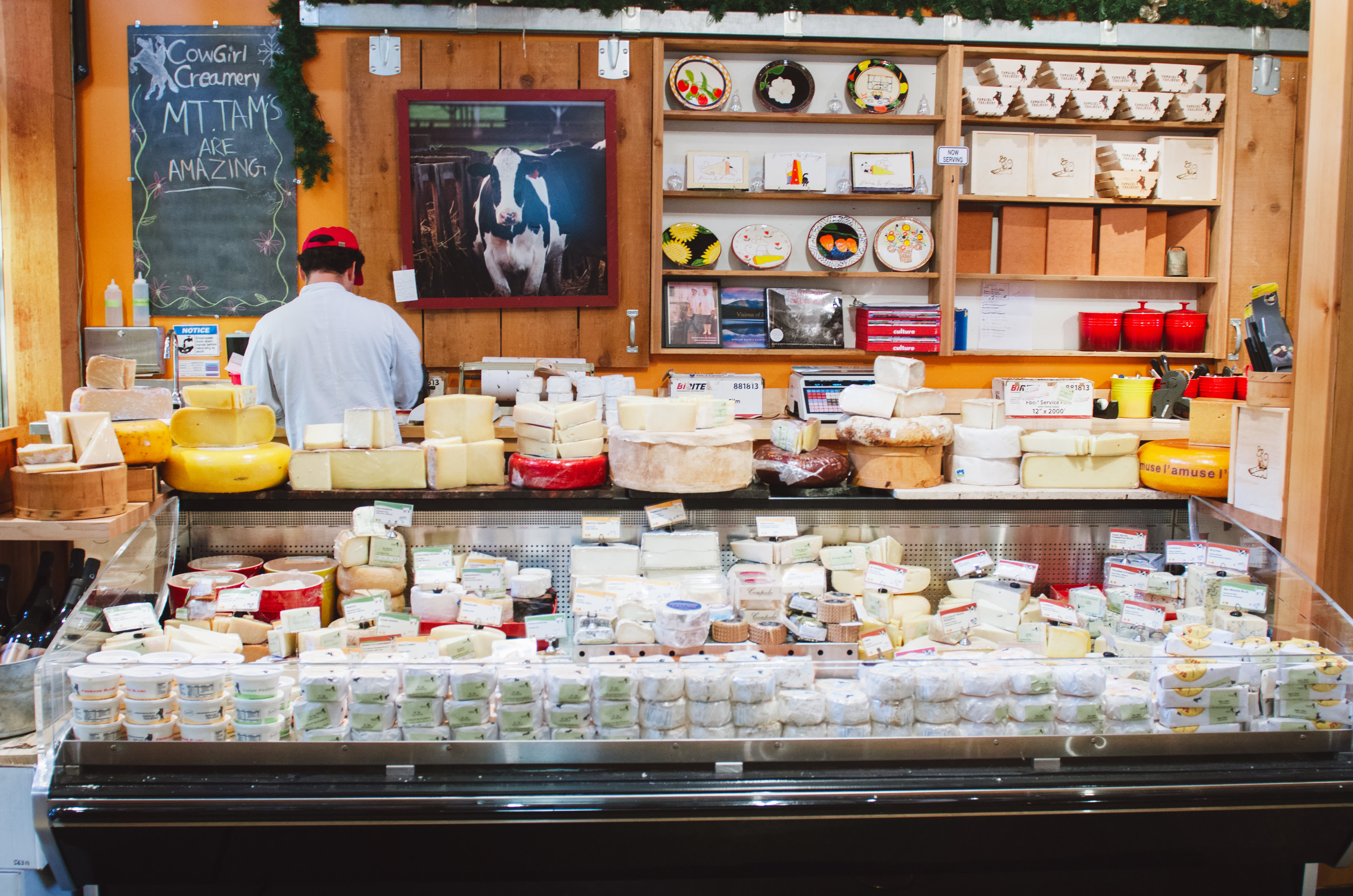 Making Cheese & Making Friends: A Visit With the Ladies of Cowgirl Creamery: gallery image 15