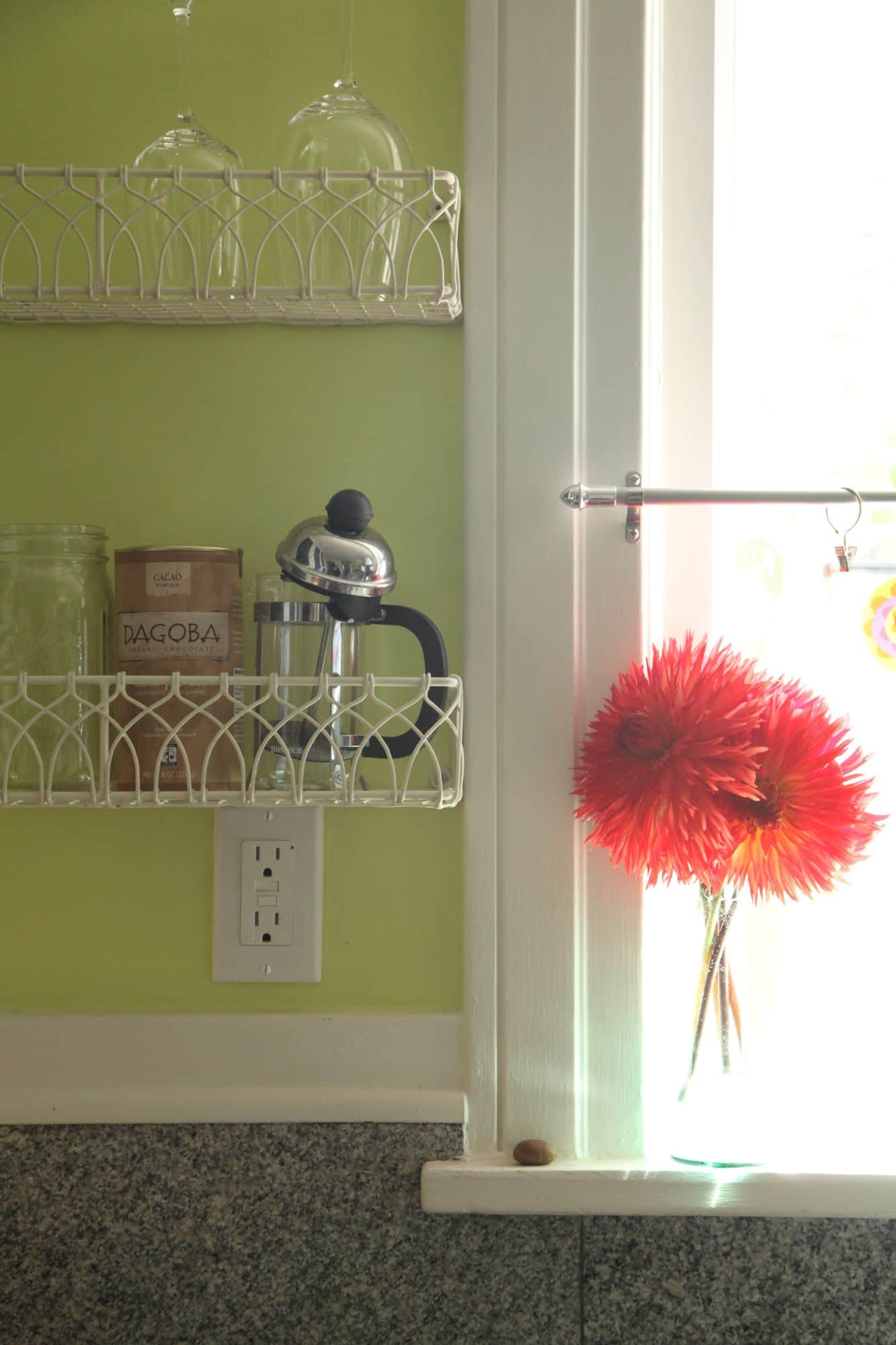 Mari & Adam's Colorful Craftsman Kitchen: gallery image 13
