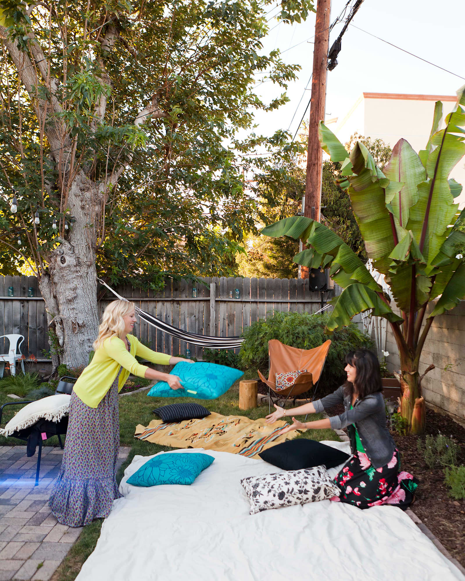 An Outdoor Movie Party: gallery image 15