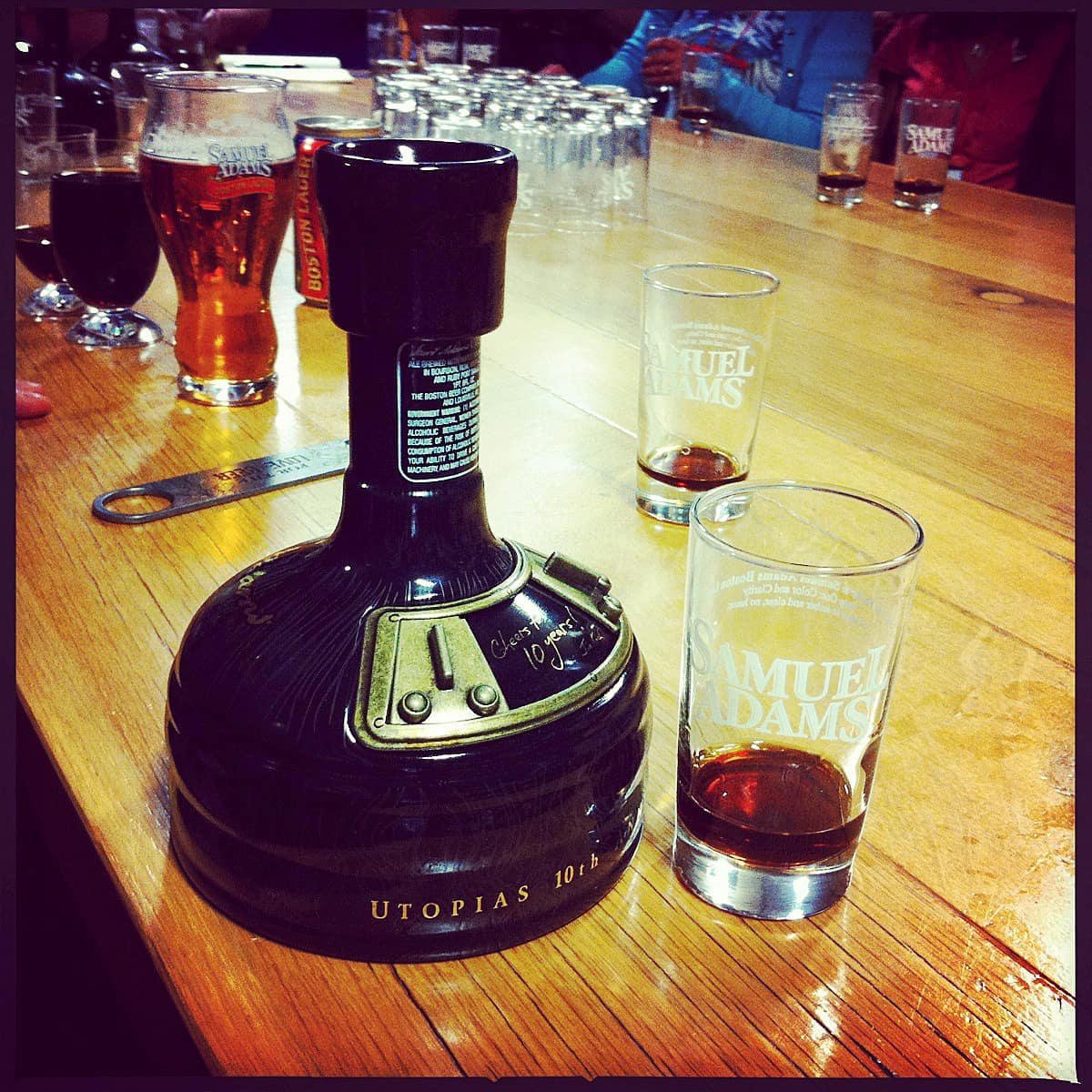 This is What a $150 Beer Tastes Like: Sam Adams Utopias