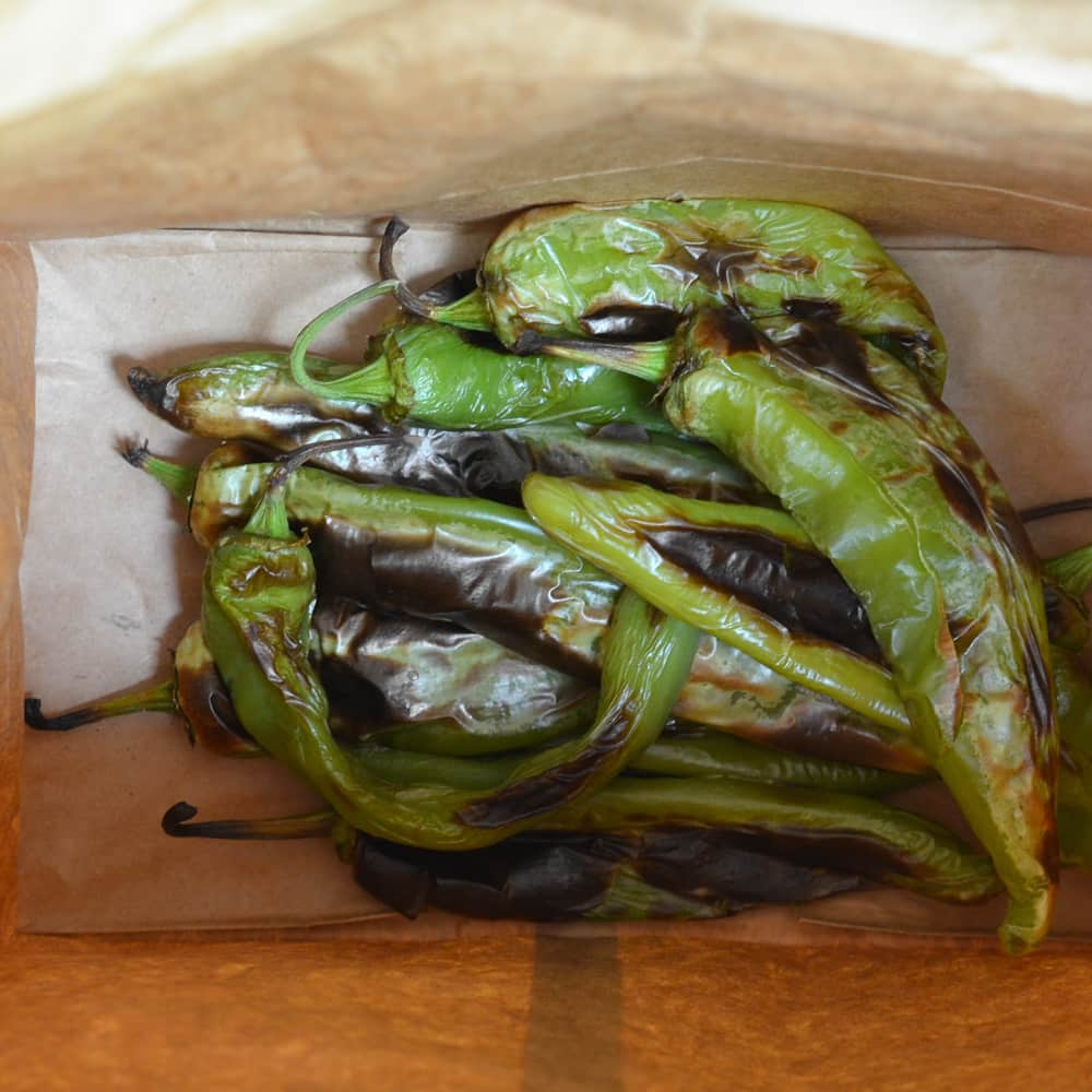 How To Roast and Freeze Green Chiles: gallery image 7