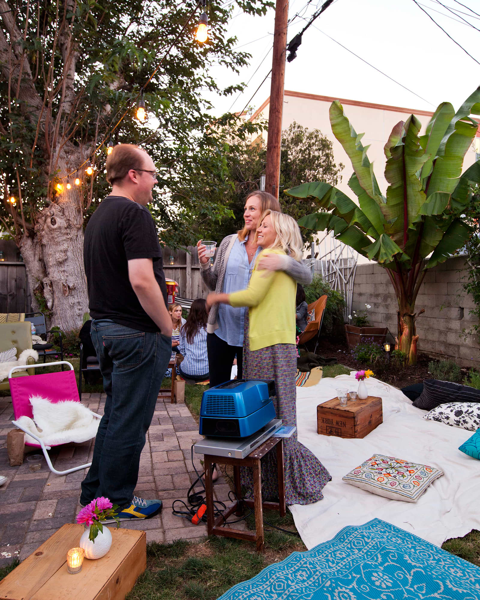 An Outdoor Movie Party: gallery image 33