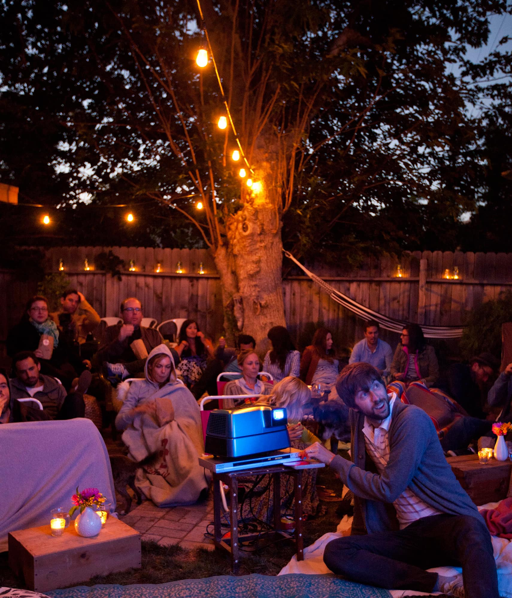 An Outdoor Movie Party: gallery image 35