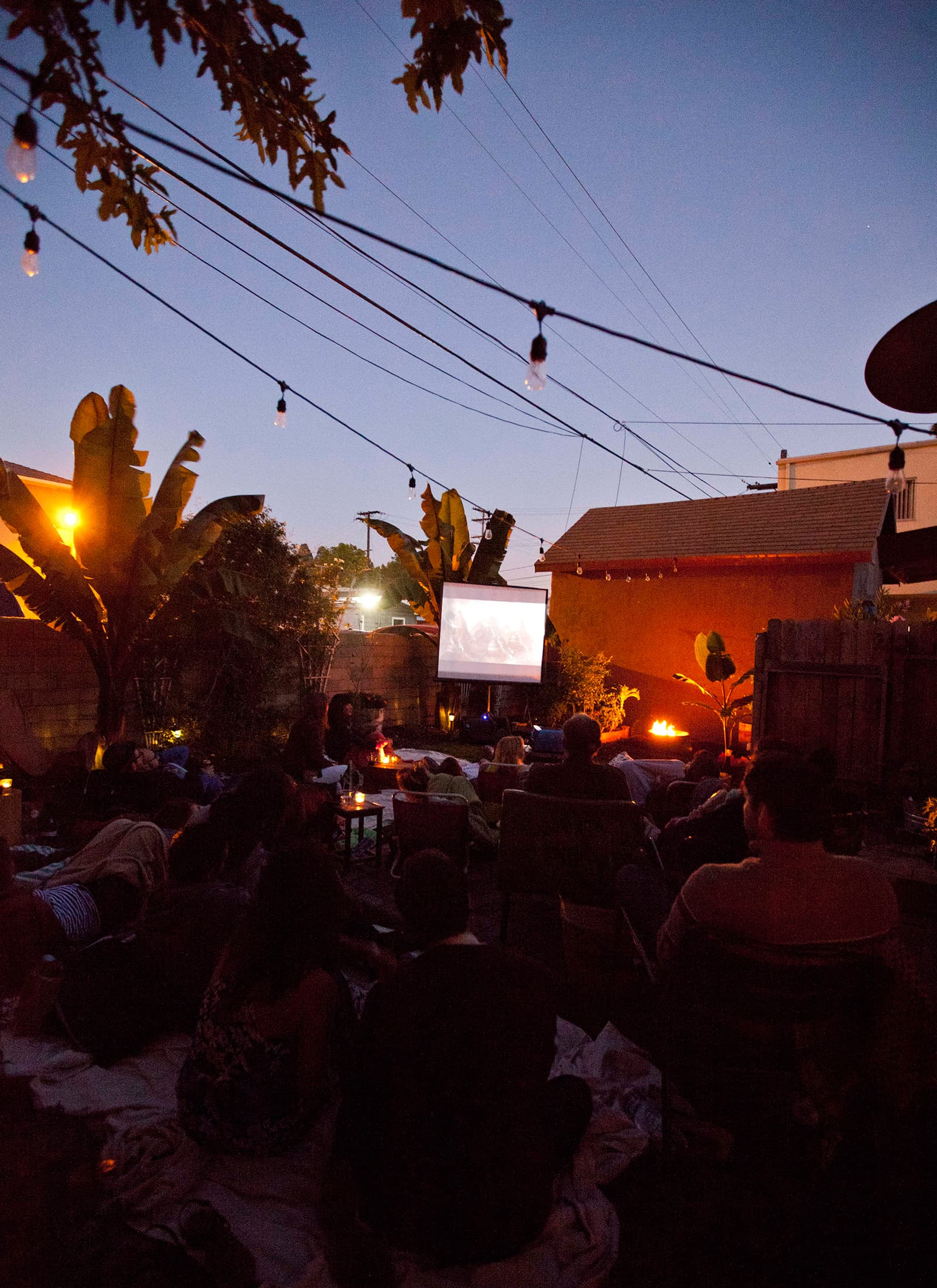 An Outdoor Movie Party: gallery image 36