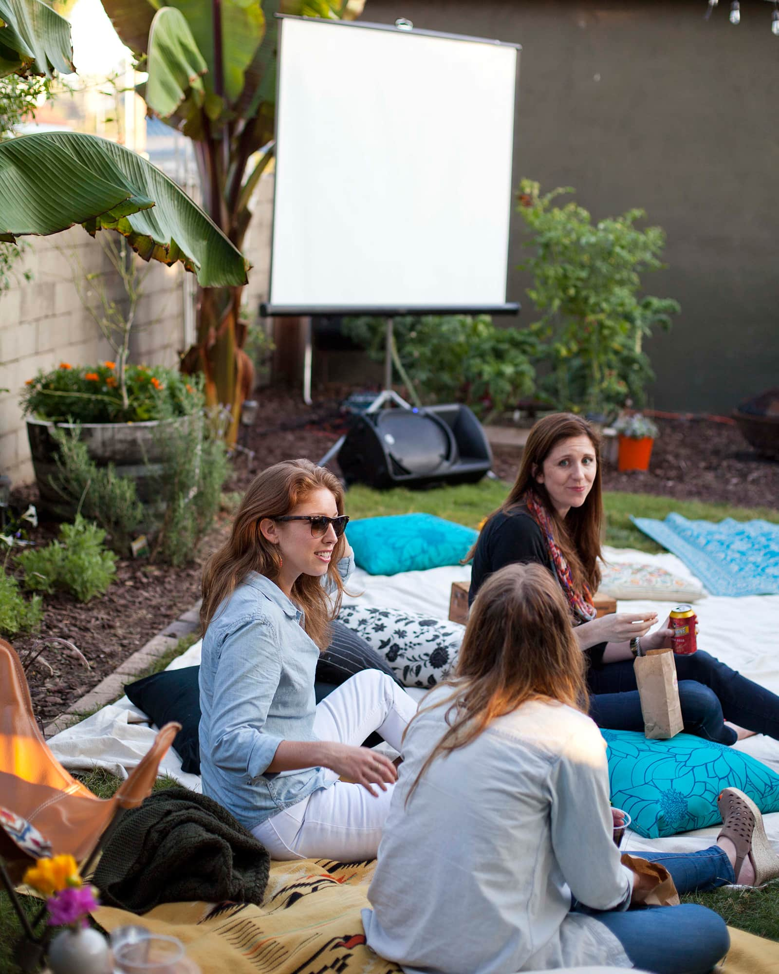 An Outdoor Movie Party: gallery image 24