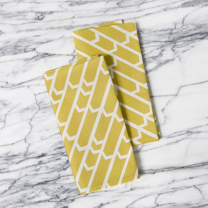 For a Little Flash: Geometric & Patterned Napkins from A Sunny Afternoon: gallery image 4