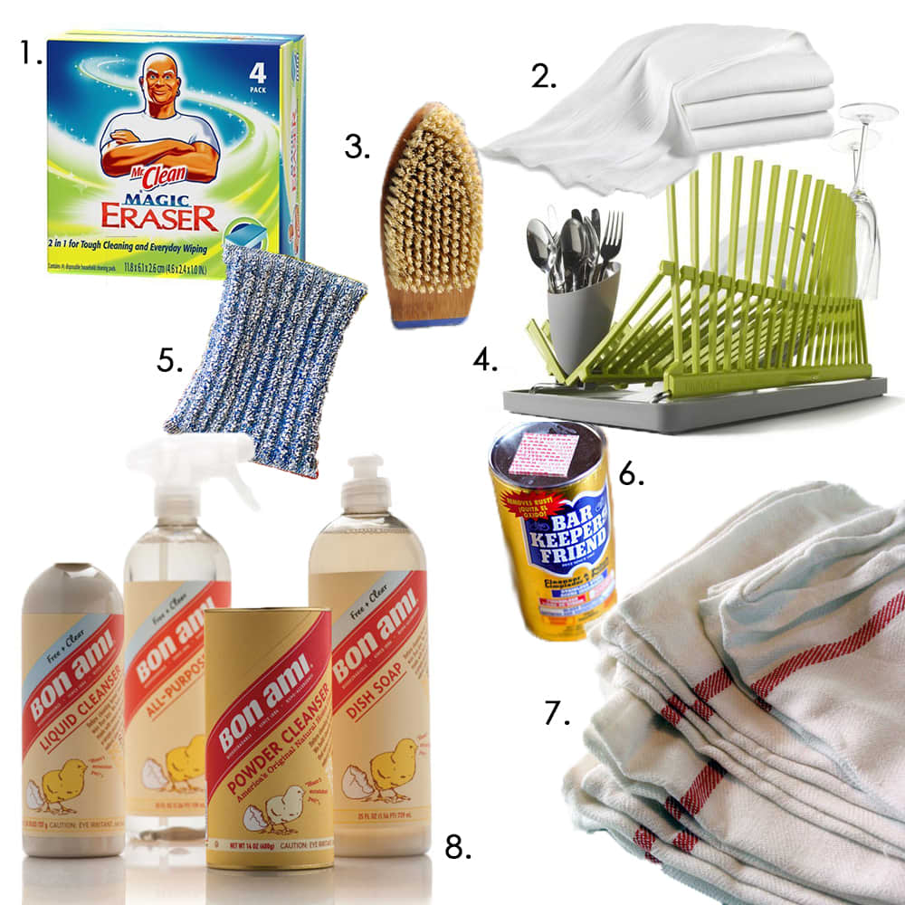 Kitchen Cleaning Tools To Keep You Out Of The Dog House