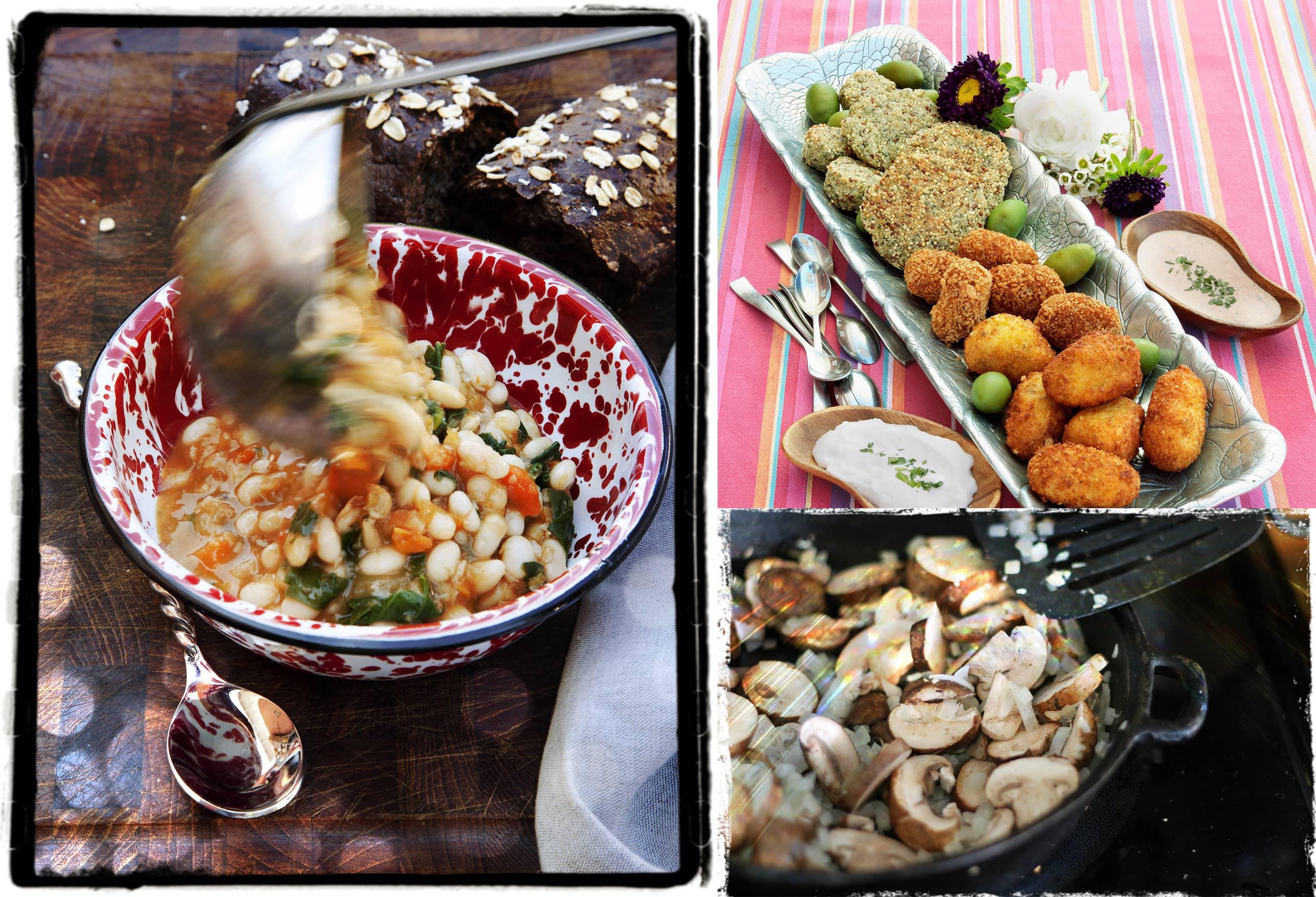 Jennie Cook's Versatile Vegan Dinner Menu
