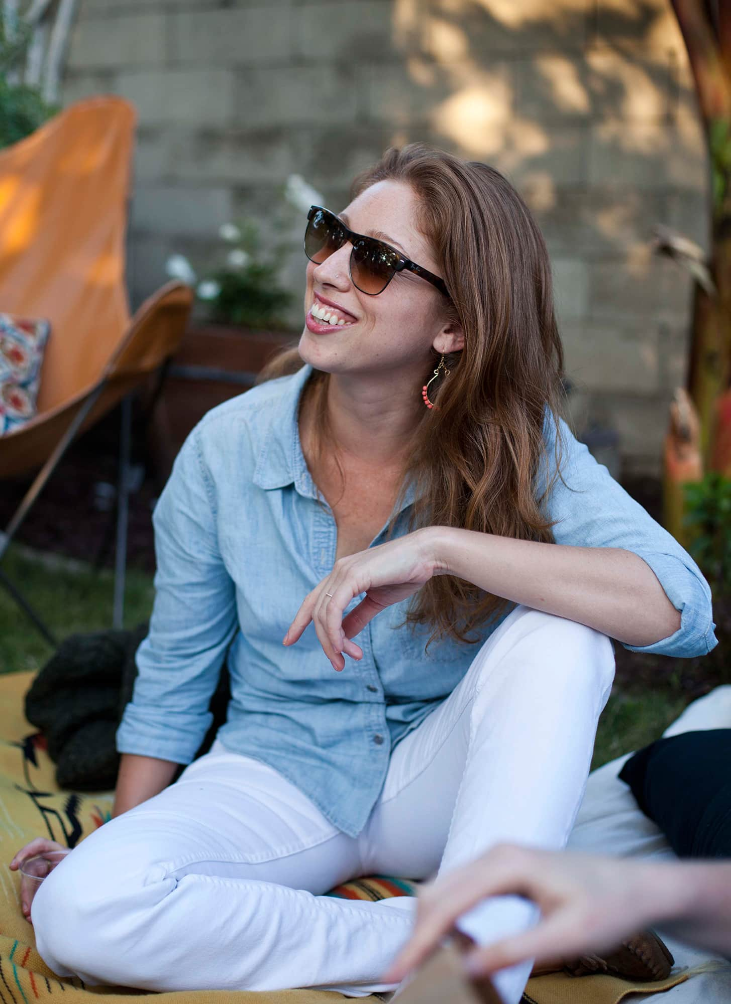 An Outdoor Movie Party: gallery image 19
