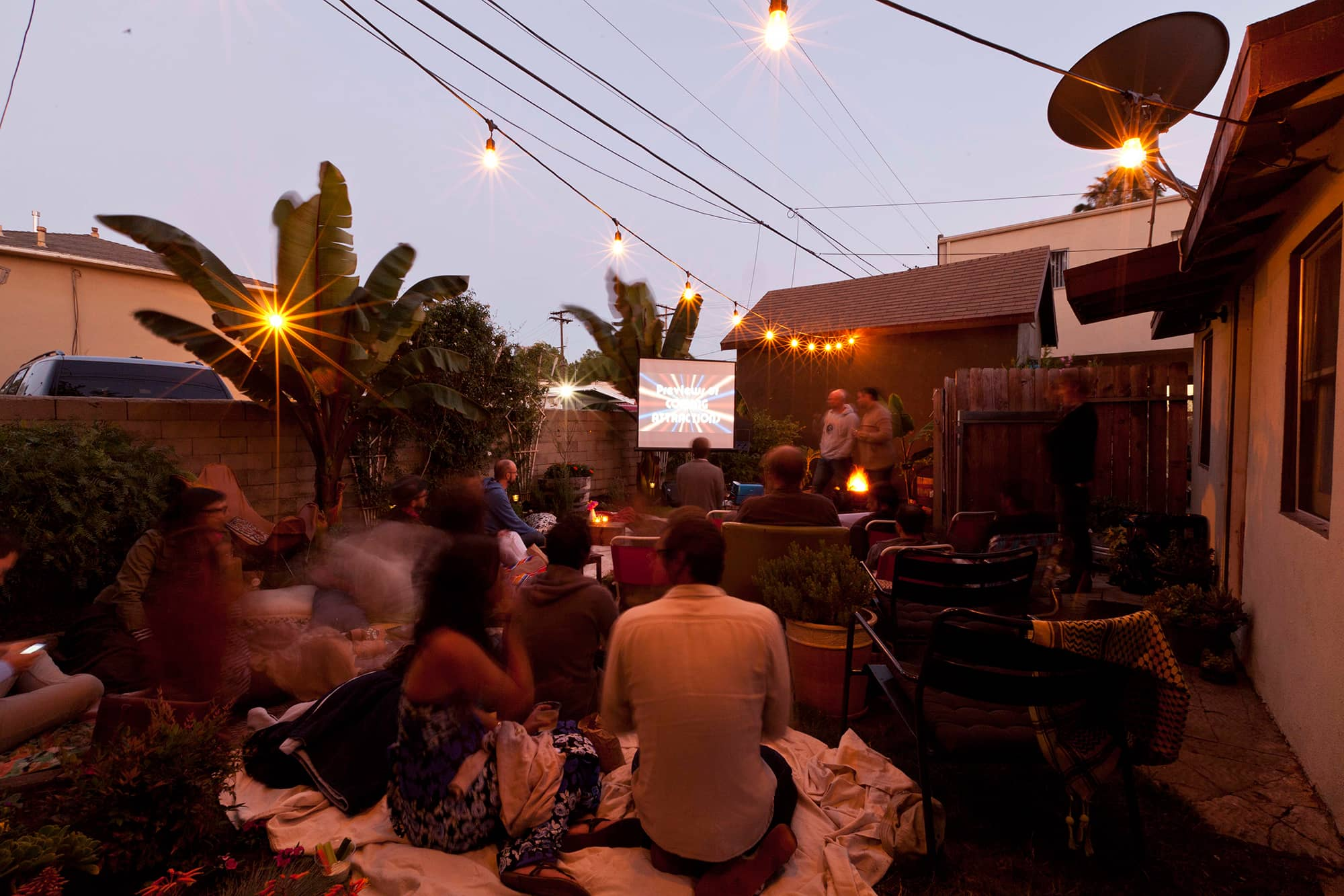 An Outdoor Movie Party: gallery image 34