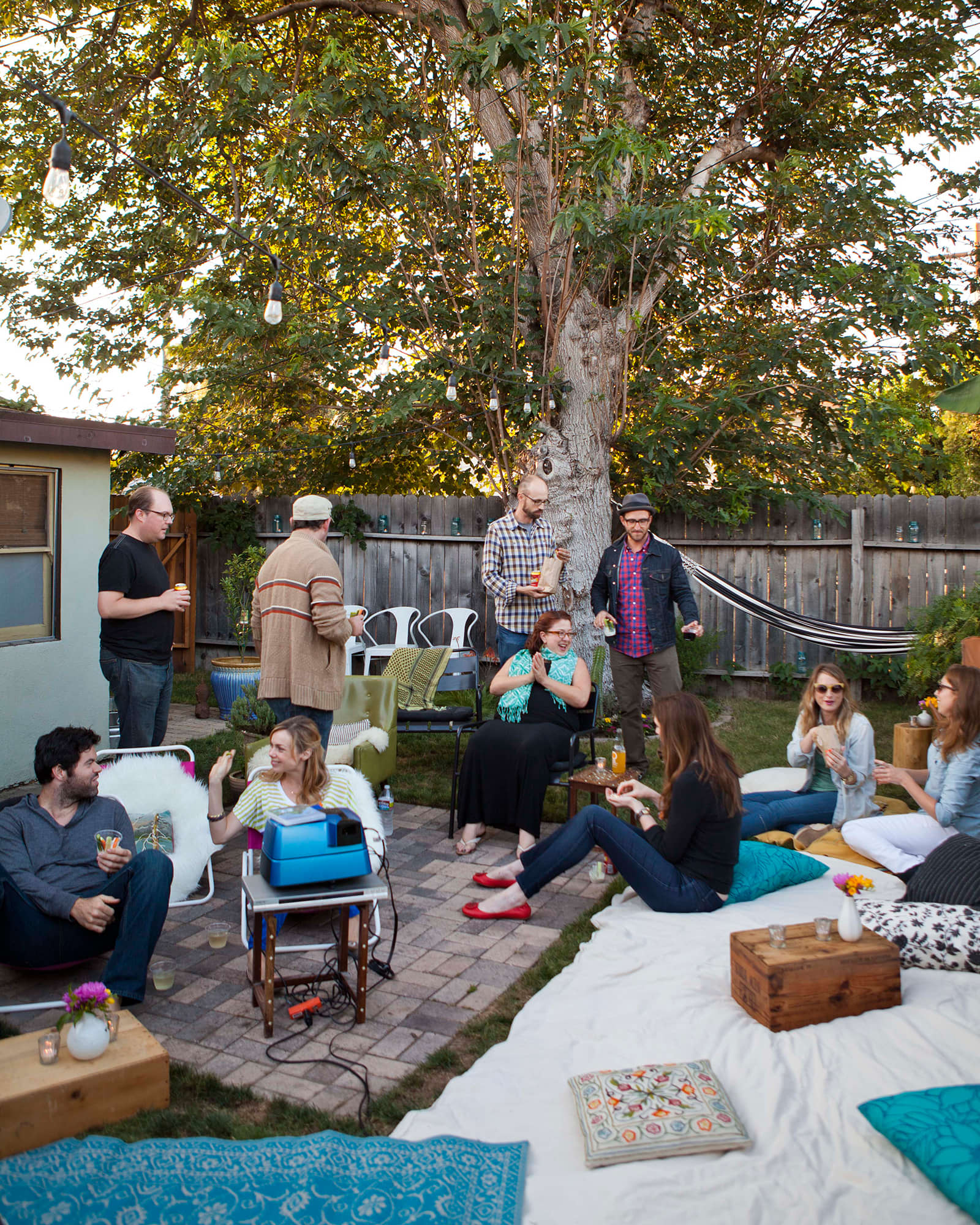 An Outdoor Movie Party: gallery image 26