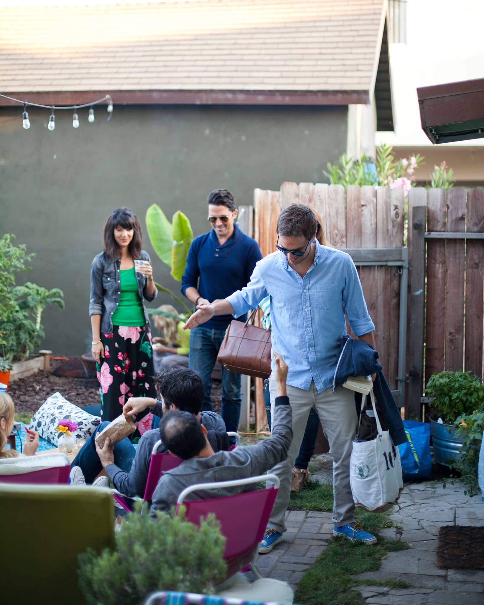 An Outdoor Movie Party: gallery image 17
