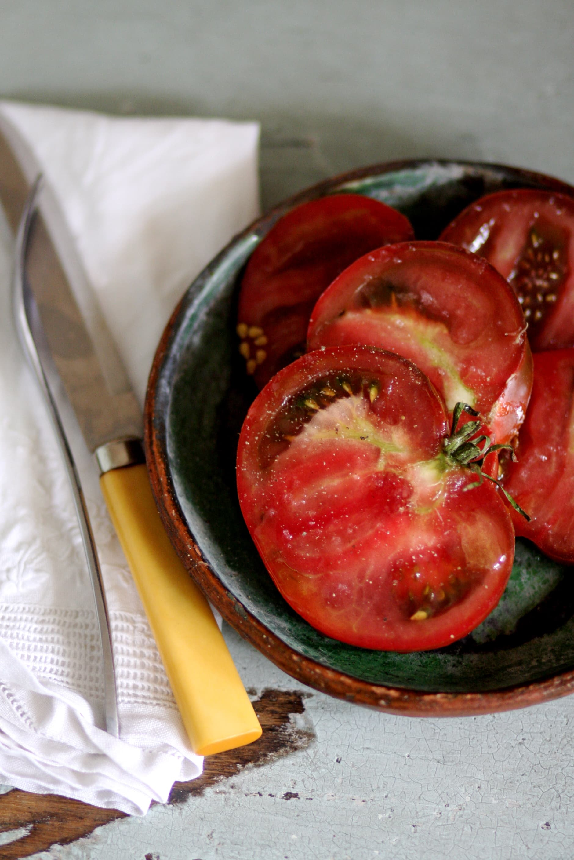 Eating Tomatoes in August