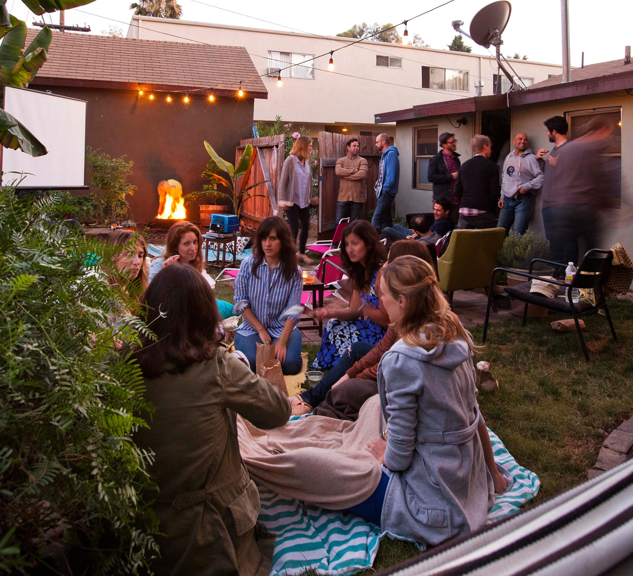 An Outdoor Movie Party: 4 Strategies for Throwing a Generous Party on a Budget